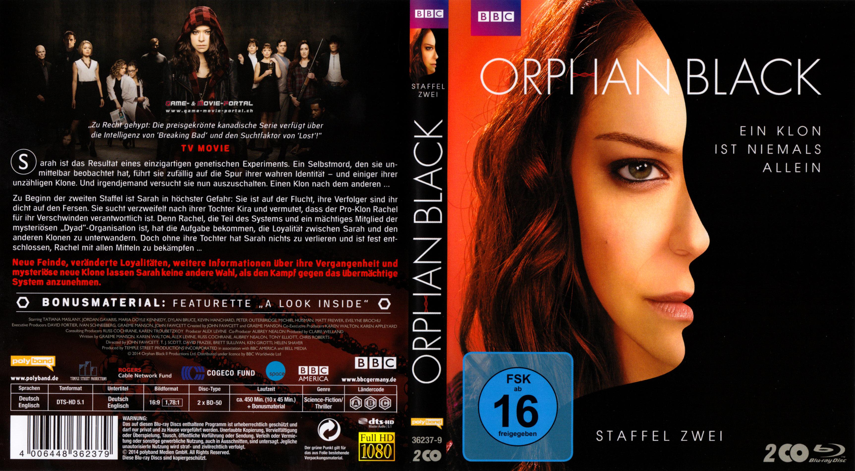 Orphan Black Staffel 4 Deutsch